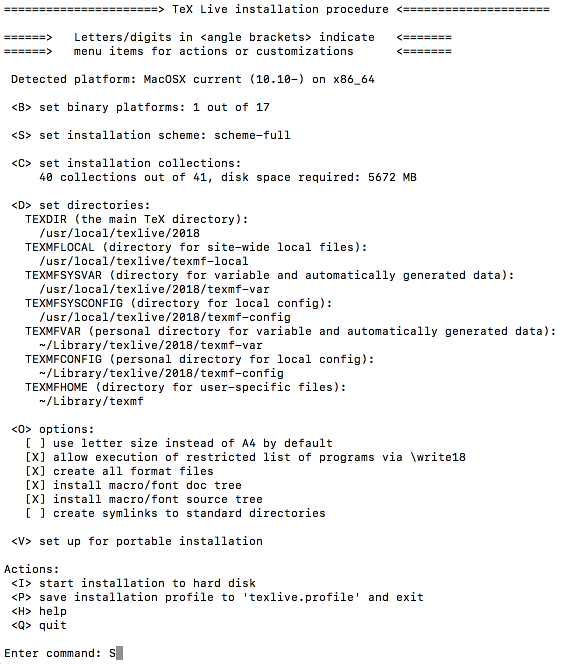 Re:VIEW 向け日本語 TeX Live 環境のセットアップ(Linux、macOS